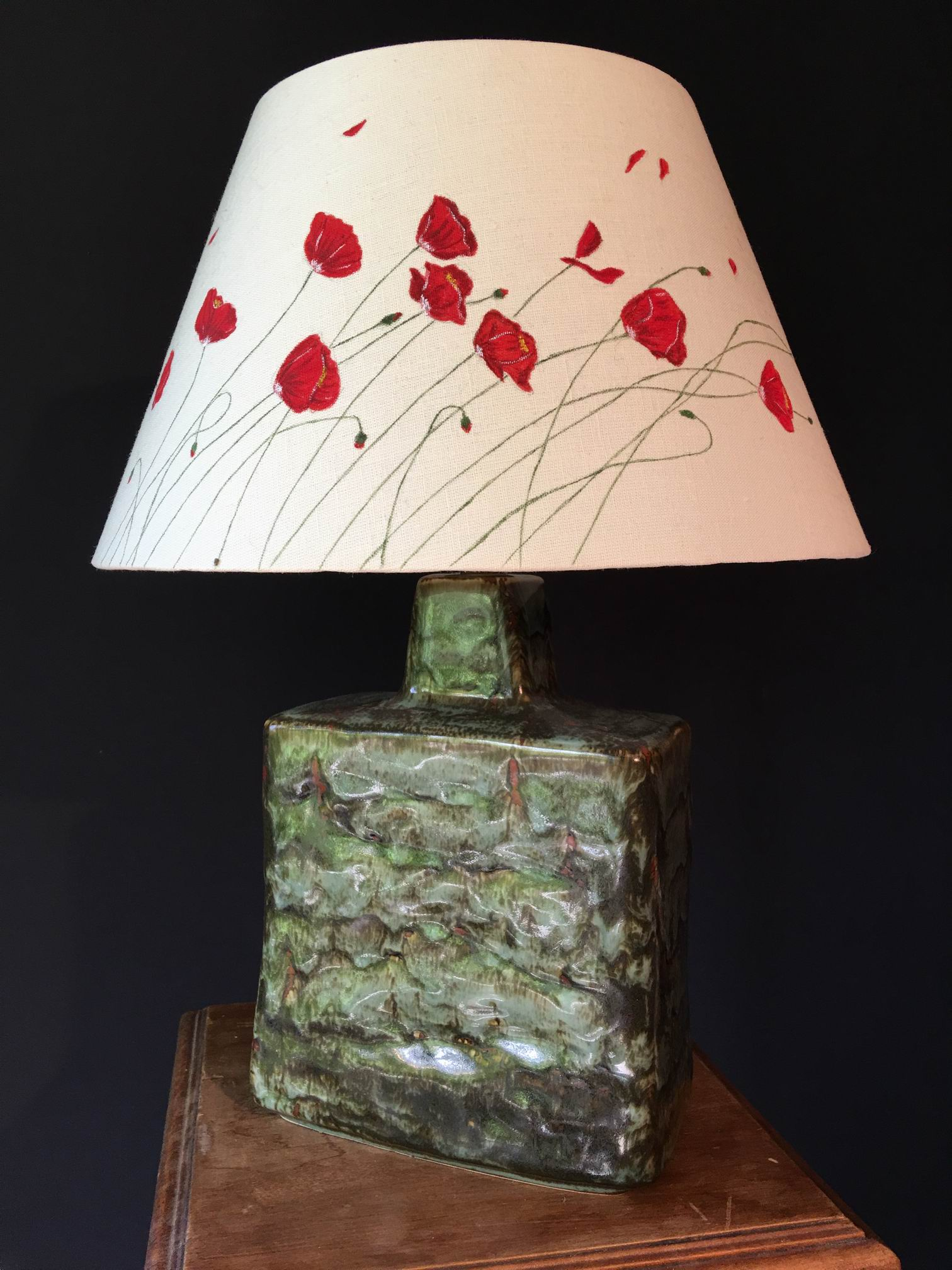 Lampe Coquelicots