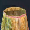 Abat-jour droit plissé à 8 pans alternés