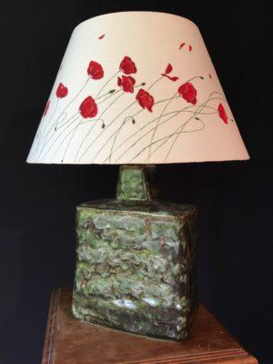 Lampe Coquelicots